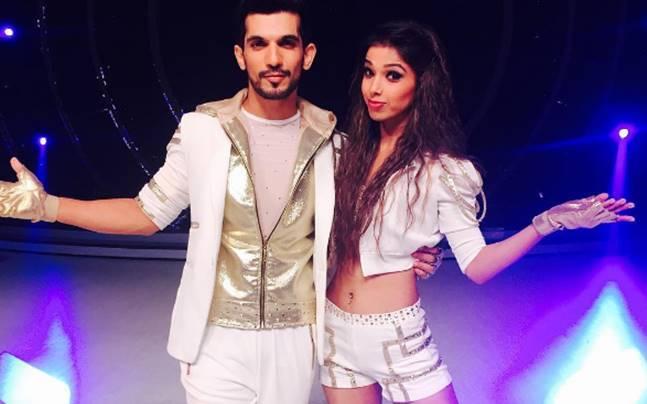 Bhawna Khanduja is Arjun Bijlani's choreographer in Jhalak Dikhhla Jaa 9. Picture courtesy: Instagram/Arjun Bijlani