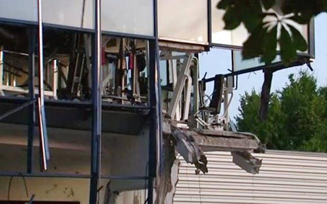 Blast in Belgium Sports Centre