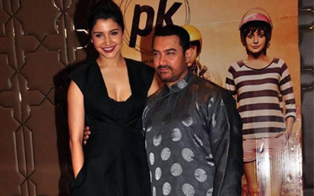 Anushka Sharma and Aamir Khan