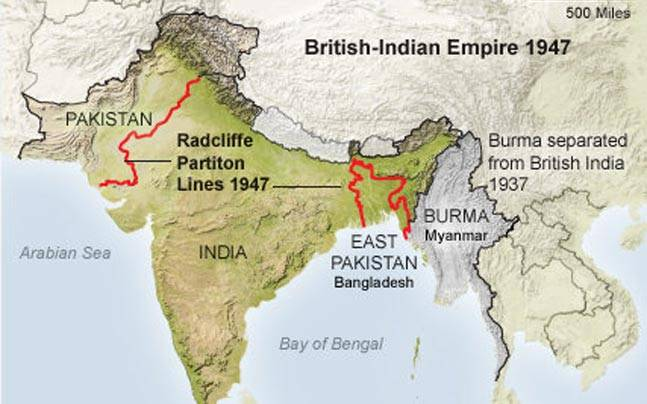 Radcliffe Line To Divide India Pakistan Was Formed On This Day Know