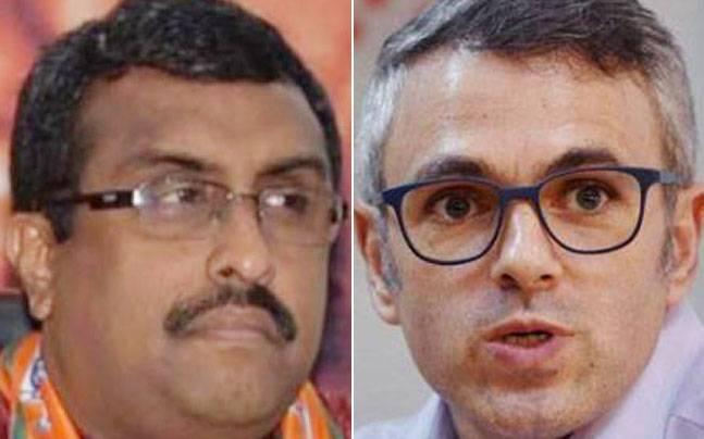 Ram Madhav and Omar Abdullah