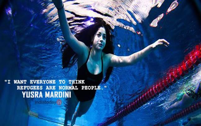 Olympic Syrian Refugee Yusra Mardini