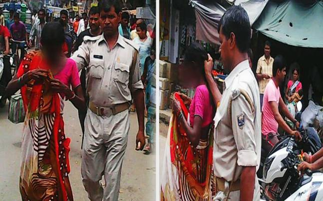 Bihar Police Brutality
