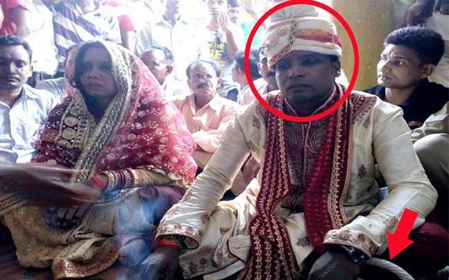 Marriage In Bihar Police Custody