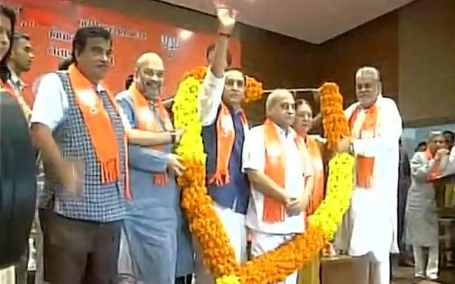 BJP leaders in Gujarat
