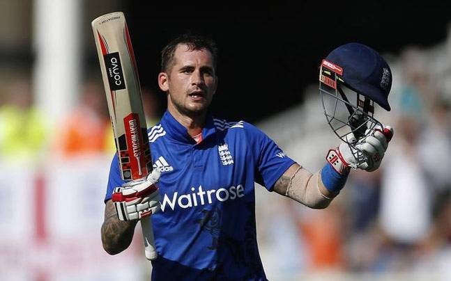 Alex Hales hit England's highest individual ODI score with 171. (Reuters Photo)