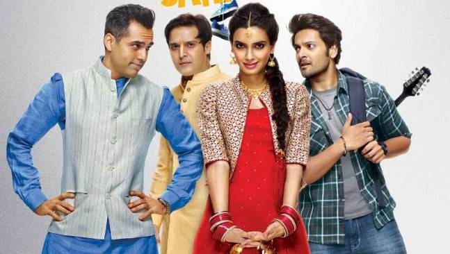 A poster of Happy Bhag Jayegi