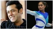 Salman Khan, IOA Goodwill Ambassador, forgets Dipa Karmakar's name