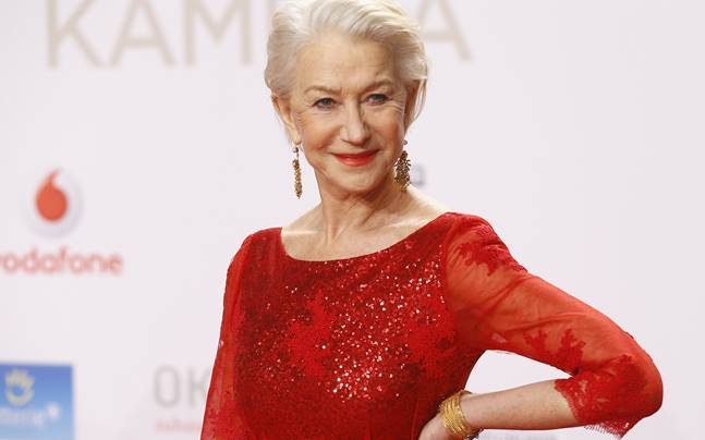 Oscar-winning actress Helen Mirren. Photo: Reuters