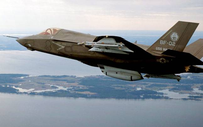 F-35A fighter jets