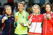 Judoka Rafaela Silva wins Brazil's first gold at Rio Olympics