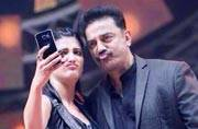 Kamal Haasan 'hobbling' on road to recovery, daughter Shruti cheers him on