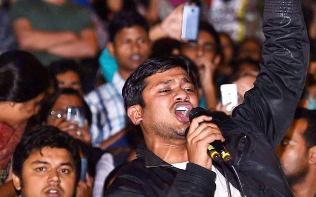 JNUSU president Kanhaiya Kumar