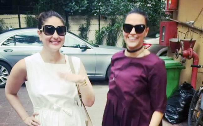 Kareena Kapoor and Neha Dhupia
