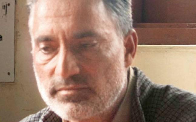 Father of 19-year-old Jehangir Ahmad Ganai.