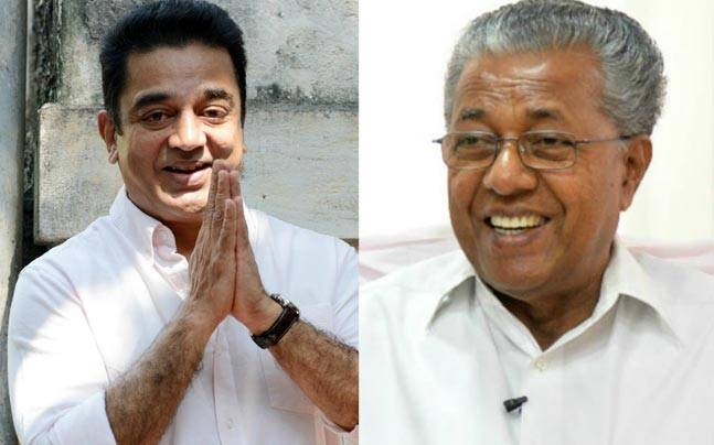 Kamal Haasan reponds to Kerala CM Pinarayi's wishes
