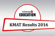 KMAT Results 2016: Check your scores now at kmatindia.com