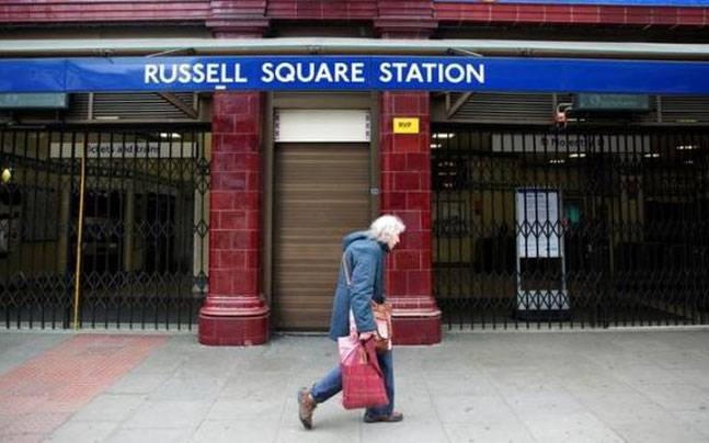 Russell Square station in Central London