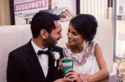 This couple's 'white hot chocolate and doughnut'-filled love story is so sweet, it'll make you cry
