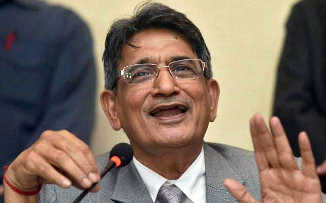 A file image of Justice RM Lodha. (PTI Photo)