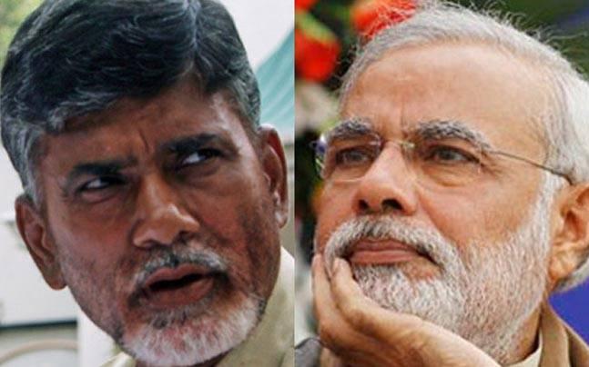 Narendra Modi and Chandrababu Naidu