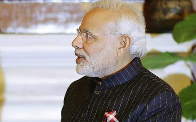 Narendra Modi's monogrammed suit