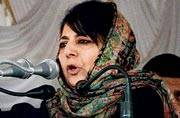 Mehbooba Mufti requests Haj pilgrims to pray for peace in Kashmir