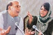 Mehbooba Mufti differs from Rajnath on Kashmir crisis, says only 5 per cent involved in violence