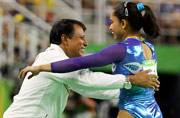 Indian coaches just as good as foreign counterparts, says Dipa Karmakar's coach Bishweshwar Nandi