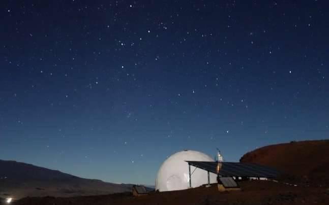 NASA's dome in Hawaii