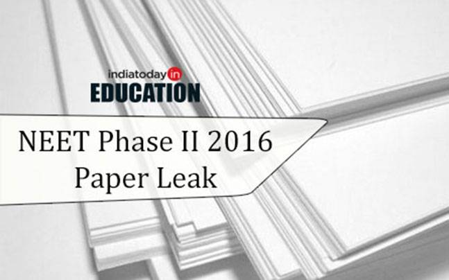 NEET Phase II paper leak row: