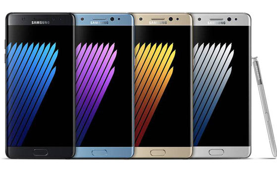 Samsung Galaxy Note 7 has best display of all smartphones: DisplayMate