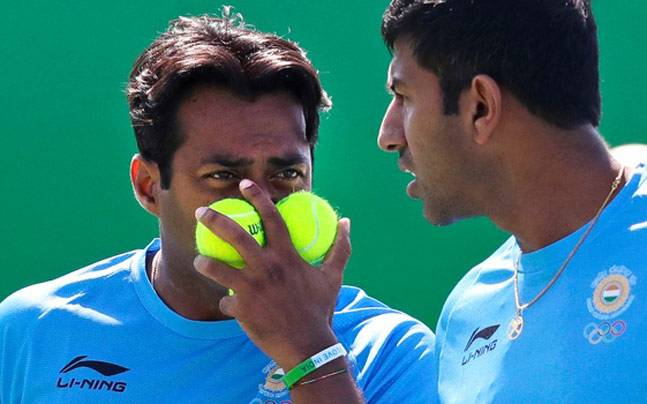 Leander Paes and Rohan Bopanna