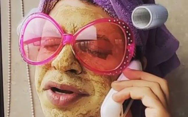 Ssumier Pasricha aka Pammi Aunty. Picture courtesy: Instagram/Ssumier Pasricha