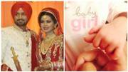 SEE PIC: Aww! Geeta Basra shares first pic of her baby girl and thanks fans