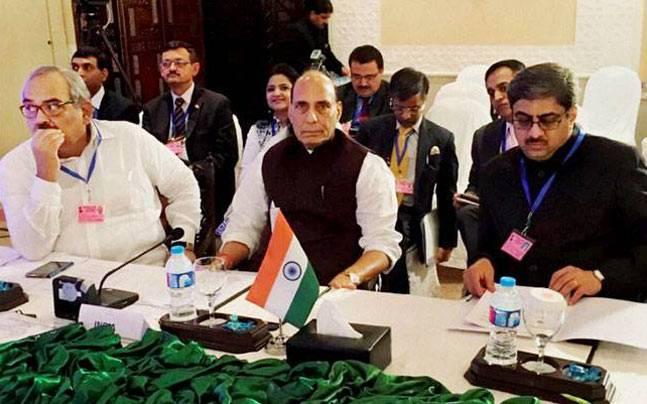 Rajnath condemns Pakistan