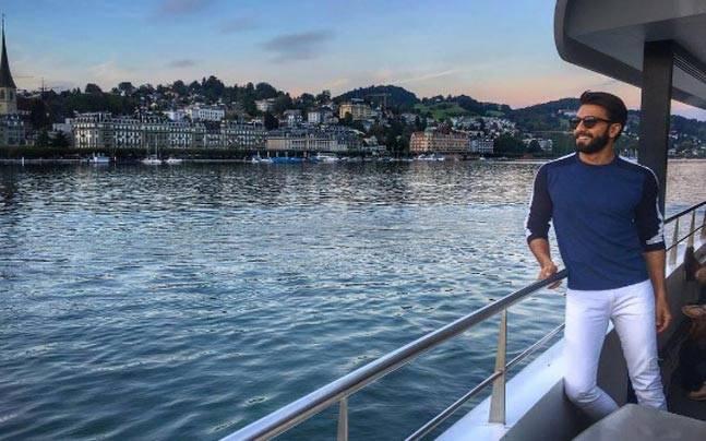 Ranveer Singh is having the time of his life. Picture courtesy: Instagram/Ranveer Singh