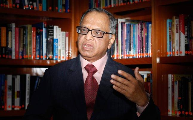 N.R. Narayana Murthy. Picture Credits: Reuters