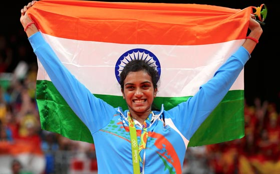 Sindhu just won Olympic medal but India is searching for her caste