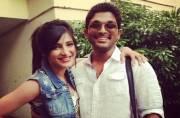Shruti Haasan turns down Allu Arjun's film