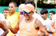 This man ran from Delhi to Mumbai; 1,480km across 6 states in 19 days