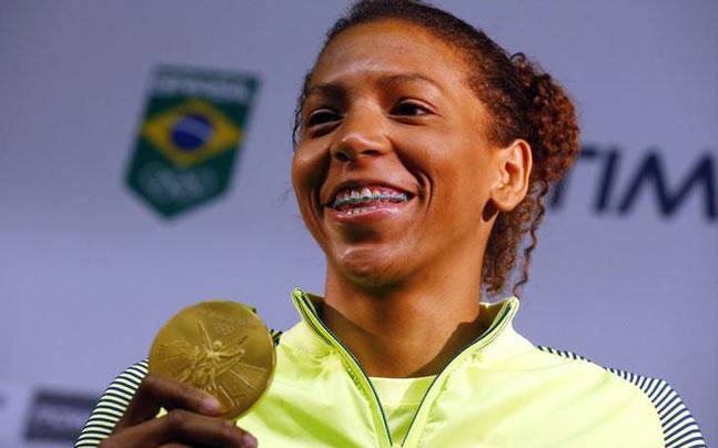 Rafaela Silva. (Reuters Photo)
