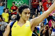 PV Sindhu, Rio silver medallist, felicitated by AP government