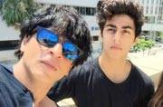 Dad Shah Rukh Khan escorts son Aryan to film school at University of Southern California