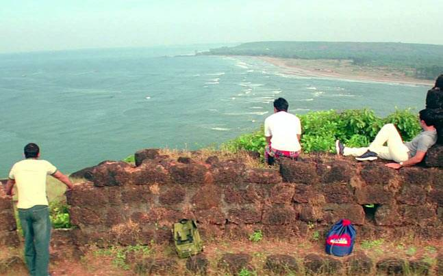 The iconic Dil Chahta Hai scene from Fort Aguada in Goa. Picture courtesy: Excel Entertainment
