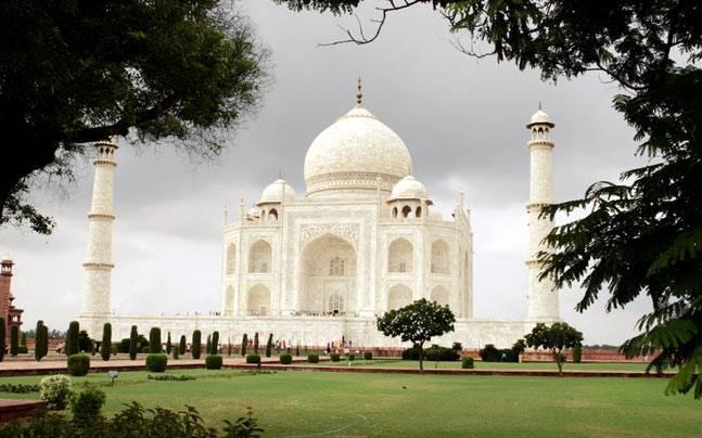 The Taj Mahal. Photo: Reuters