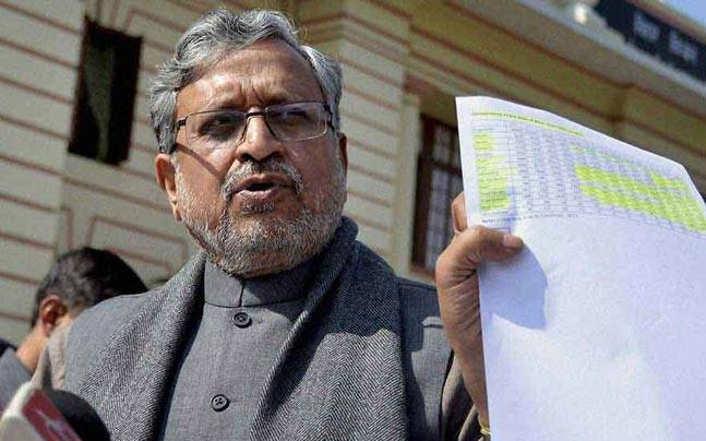 Former Bihar Deputy Chief Minister and BJP leader Sushil Modi