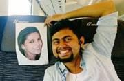 Faizan and his wife Sana
