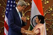 Kerry, Sushma co-chair talks as India, US reaffirm need for Pak to fight terror