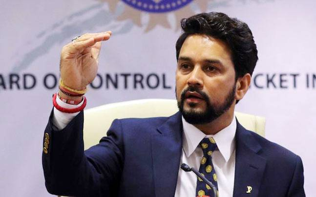 A file image of BCCI President Anurag Thakur. (Reuters Photo)